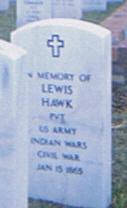 Pvt Lewis Hawk