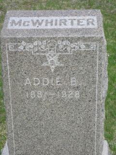 Addie Belle <i>Heckinger</i> McWhirter