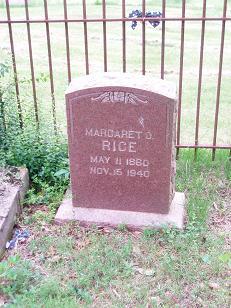 Margaret Odelia <i>Bone</i> Rice