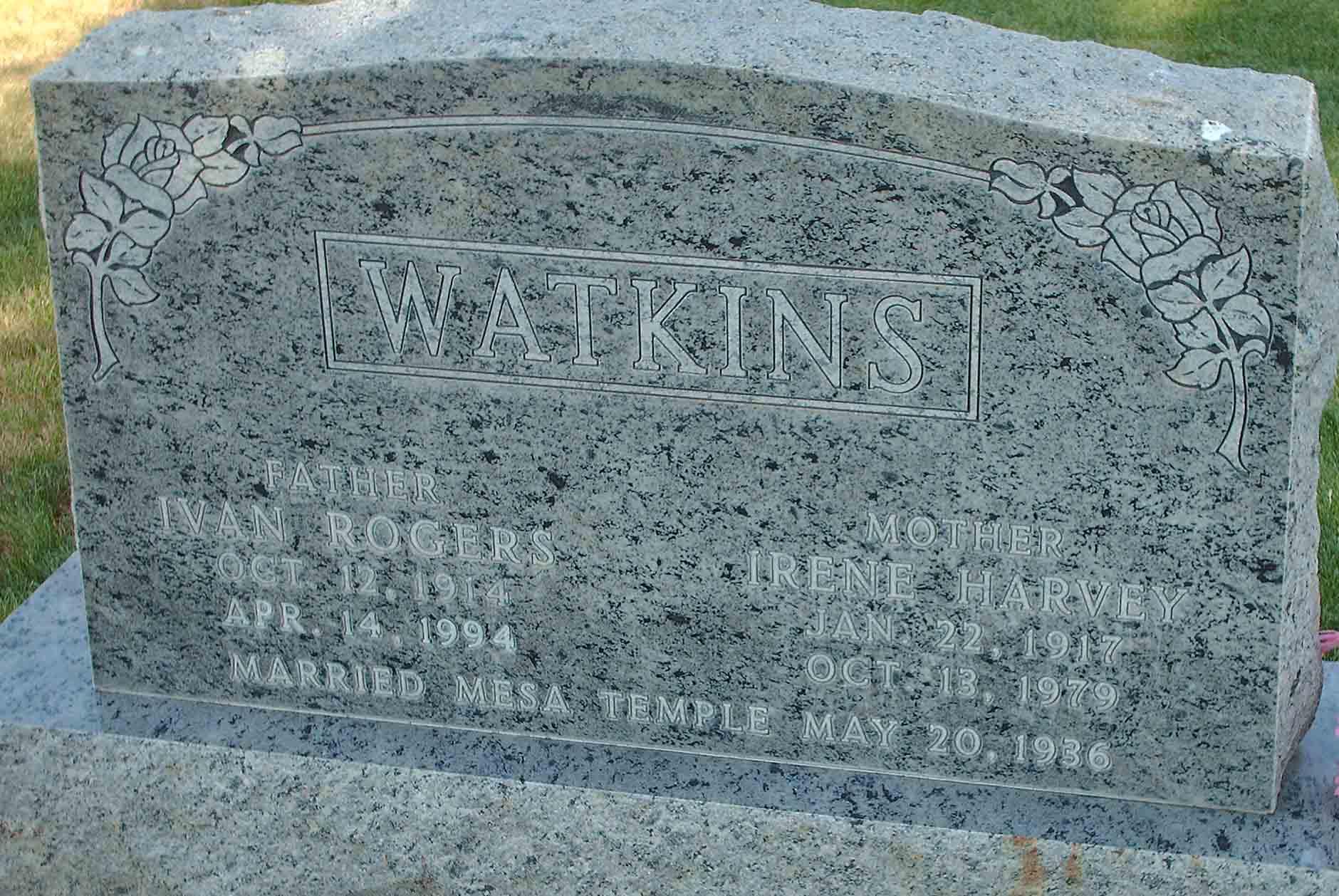 Irene harvey watkins 1917 1979 find a grave photos