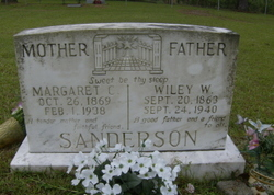 Margaret Caroline <i>Sumrall</i> Sanderson