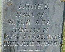Agnes Holman