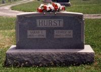 Sarah Caroline <i>Davis</i> Hurst