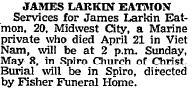 PFC James Larkin Eatmon