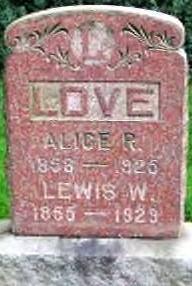 Alice Rebecca Love