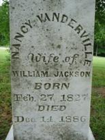 Nancy <i>Vanderville</i> Jackson