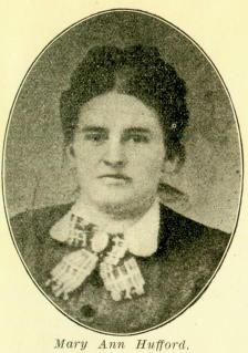 Mary Ann <i>Hufford</i> Matlock