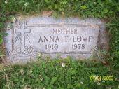 Anna Teresa <i>Plank</i> Lowe