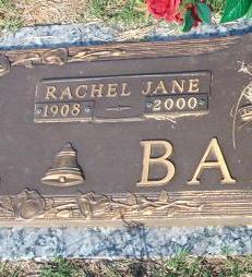 Rachel Jane <i>Sager</i> Ballou