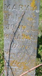 Mary A Bohannan
