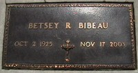 Betsey R Bibeau