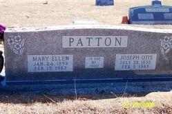 Mary Ellen <i>Coker</i> Patton