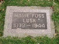 Marie Jane <i>Foss</i> Lusk
