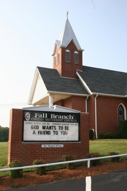Fall Branch United Methodist Church Cemetery