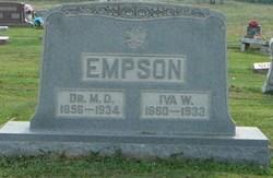 Dr McDonald David Empson