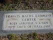 Francis Mittie <i>Lummus</i> Camper