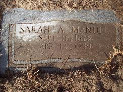 Sarah Ann Manuel