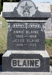 Anna Lavina Annie <i>Havens</i> Blaine