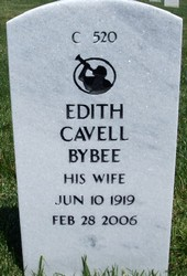 Edith Cavell <i>Williams</i> Bybee