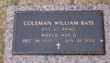 Coleman William Bass