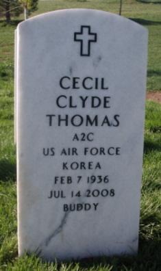 Clyde Cecil Buddy Thomas
