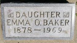 Emma O <i>Hendrickson</i> Baker