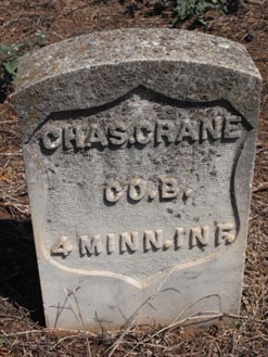Pvt Charles Crane