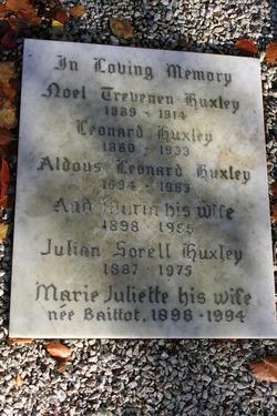Maria <i>Nys</i> Huxley