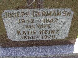 Catherine Katie <i>Heinz</i> German