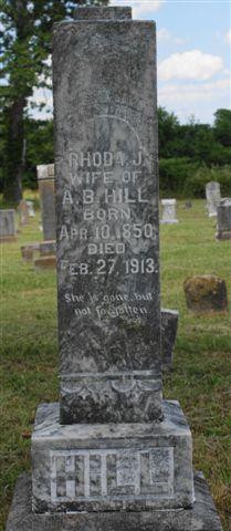 Rhoda Jane <i>Salyer</i> Hill