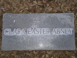 Clara P <i>Easter</i> Abney