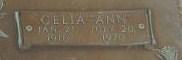 Celia Ann <i>Everhart</i> Aaron