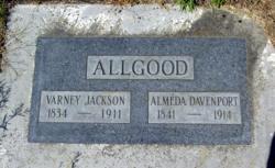Almeda <i>Davenport</i> Allgood