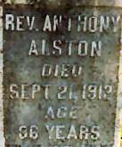Rev Anthony Alston