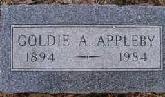 Goldie Ann <i>Bonham</i> Appleby