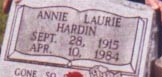 Annie Laurie <i>Adams</i> Hardin