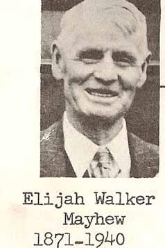Elijah Walker Mayhew