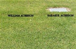 Sarah E <i>Baker</i> Acheson