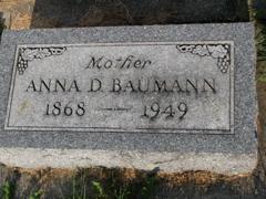 Anna Dorothea <i>Eikamp</i> Baumann