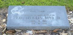 Ray Archilus Boyd, Jr