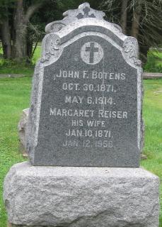 Margaret <i>Reiser</i> Botens