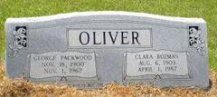 George Packwood Oliver