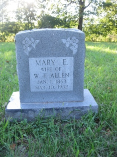 Mary E <i>Casey</i> Allen