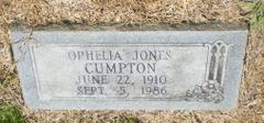 Ophellia <i>Jones</i> Cumpton