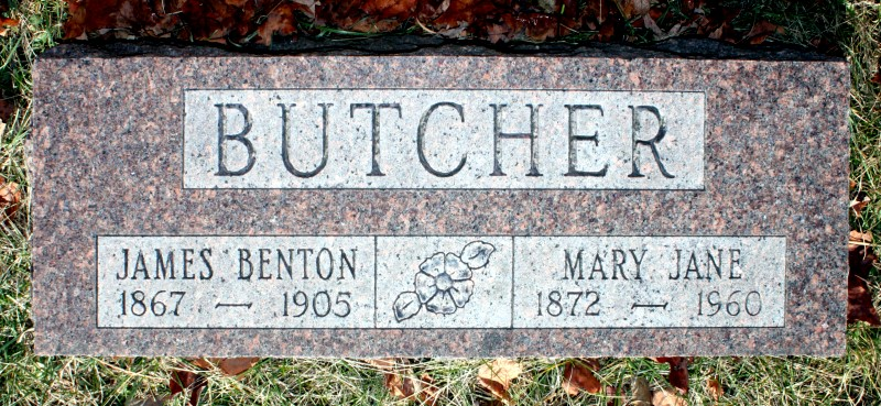 mary jane ullom butcher  1872   1960    find a grave photos