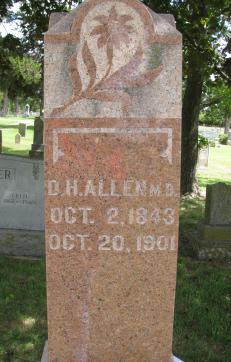 Dr Daniel Homar Allen