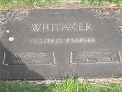 Irene P <i>Schlarb</i> Whitaker