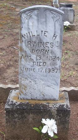 William Henry Willie Raines
