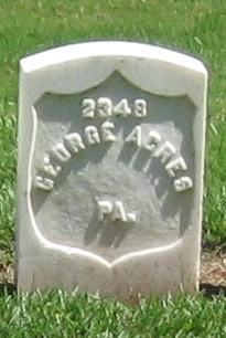 Pvt George Acres
