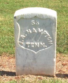 Pvt J. A. Hampton